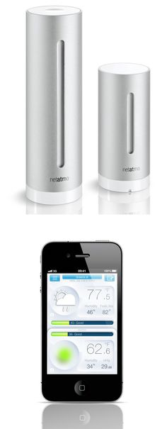 Netatmo Weather Station 10 tech suggestions for smart home