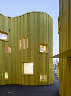 Tellus nursery school by Tham and Videgard Arkitekter///////www.bedreakustik.dk/home DISCOUNT TO PINTEREST CUSTOMERS Dedicated to deliver superior interior acoustic experience.#pinoftheday///////
