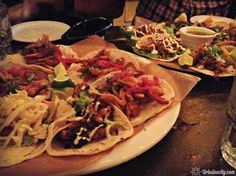 Tacos du restaurant Maïs - rue Saint-Laurent, Montréal