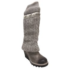 Sorel Crazy Cable Legwarmer Boot.  These are in dream closet.  Look soooo comfy!!!