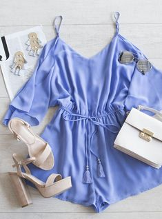 A Love Like This Romper - Periwinkle #lovepriceless