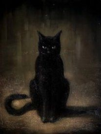 "The matagot, or ""magician cat,"" is a spirit-being in disguise that may bring good luck into a home if it is well fed. #folklorethursday"
