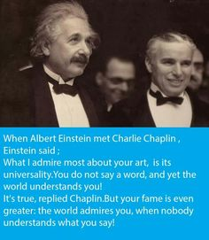 Charlie chaplin n Einstein Charlie Chaplin, Brainy Quotes, You Dont Say, Albert Einstein, Understanding Yourself, Image Sharing, Book Quotes, Abraham Lincoln, Best Funny Pictures