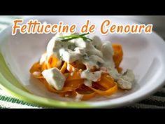 Fettuccine de Cenoura ao Creme de Frango | Receitas de Minuto - A Solução prática para o seu dia-a-dia!