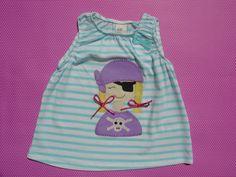 Camiseta con niña pirata por LacasitadeCaperucita en Etsy