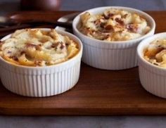 Individual Turkey Shepherd's Pie Recipe : Food Network Kitchens : This recipe was delicious! Added corn and mushrooms and made it a full size pie! Fodmap Recipes, Pie Recipes, Cooking Recipes, Healthy Recipes, Recipies, Cooking Stuff, Healthy Dinners, Diabetic Recipes, Healthy Foods