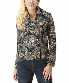 Joe Browns Women's Tapestry Biker Jacket