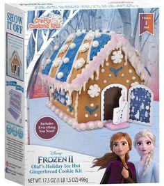 Look at this Frozen 2 Holiday Gingerbread House Kit Best Gingerbread House Kit, Cardboard Gingerbread House, Cool Gingerbread Houses, Frozen Toys, Disney Frozen 2, Little Girl Toys, Toys For Girls, Unicorn Bedroom Decor, Bebidas Do Starbucks