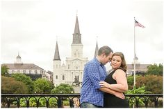 Jackson Square New Orleans Engagement Session   www.photographybymarirosa.com