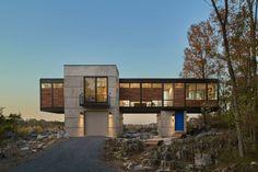 Hawks Nest | Custom Home Magazine | Wiedemann Architects, Falling Waters, W.Va., Single Family, 2016 AIA Maryland Design Awards, AIA Maryland Design Award 2016, Award Winners