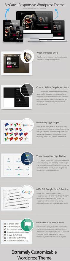 BizCare – Responsive Multipurpose WordPress Theme + Download