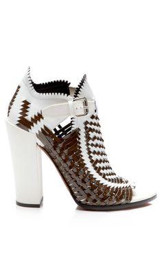 Shop Basket Weave Sandal by Proenza Schouler for Preorder on Moda Operandi