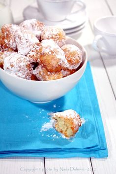 Fritters with cheese / Fritule sa sirom