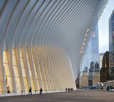 awesome World Trade Center Transportation Hub | Santiago Calatrava Check more at http://www.arch2o.com/world-trade-center-transportation-hub-santiago-calatrava/
