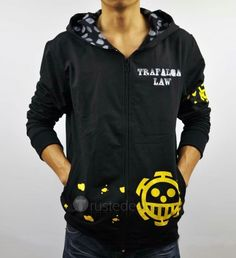 One Piece Trafalgar Law Cosplay Hoodie & Jacket Costumes