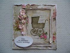 Drumla Art Baby Cards, Card Ideas, Shabby Chic, Scrap, Tags, Frame, Girls, Home Decor, Chic