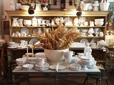 Astier de Villatte at John Derian Co shop (6 E 2nd St., New York).