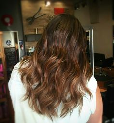 Caramel balayage @daniellelouisette Caramel Balayage, Brown Hair Balayage, New Hair, Long Hair Styles, Beauty, Long Hairstyle, Long Haircuts, Long Hair Cuts, Beauty Illustration