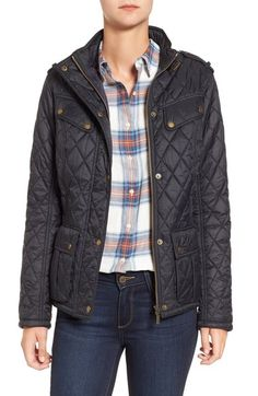 Main Image - Barbour International Caster Quilted Jacket