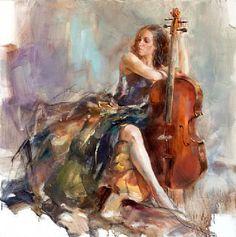 Russian Artist Anna Razumovskaya | Virtuoso by Anna Razumovskaya