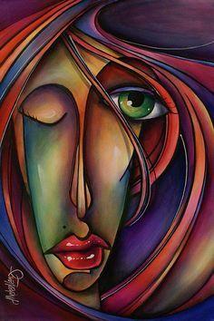 Resultado de imagen para pinturas de michael lang