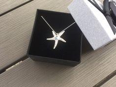 "JewelleryTreeGifts on Twitter: ""This #handmade #puresilver #starfish is off to its new home in #Wiltshire tomorrow. #giftforher #birthdaygiftforher https://t.co/kIBswa603z"""