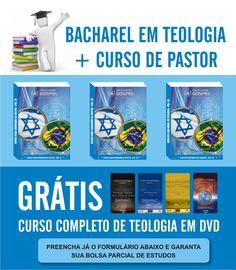 Bolsa de Bacharel em Teologia e Curso de Pastor