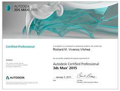 Autodesk Certified Professional 3dsmax 2015