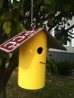 PVC Birdhouse by CedarHillWoodShed on Etsy, $10.00