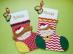 Meia Tigela Christmas Stockings, Holiday Decor, Home Decor, Baby Bunting Bag, Paper Craft Supplies, Serving Bowls, Socks, Xmas, Needlepoint Christmas Stockings