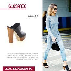 Mules #Glosario #Fashion