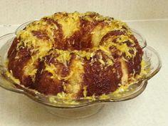 Orange chiffon cake Orange Chiffon Cake, Muffin, Pie, Breakfast, Desserts, Food, Torte, Morning Coffee, Tailgate Desserts