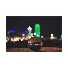 Crystal Ball Bokeh Canvas Print - diy cyo customize create your own personalize
