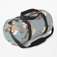 Christmas Bags, Cute Bears, Work Travel, Baggage, Shoulder Strap, Wolf, Backpacks, Space, Printed