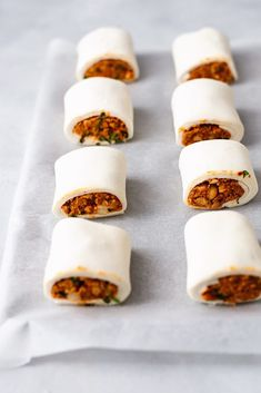 Sweet Potato and Chickpea Sausage Rolls - Vegetarian Meals - Vegetarian Recipes, Cooking Recipes, Healthy Recipes, Vegetarian Sweets, Vegetarian Options, Sausage Recipes, Healthy Nutrition, Diet Recipes, Healthy Food