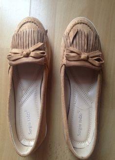 Kup mój przedmiot na #vintedpl http://www.vinted.pl/damskie-obuwie/polbuty/17796688-brazowe-mokasyny-hit-nowe