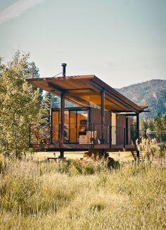 OK — Rolling Huts Location Mazama, Washington