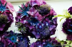 Love these to go in tall glass vases as centerpieces!