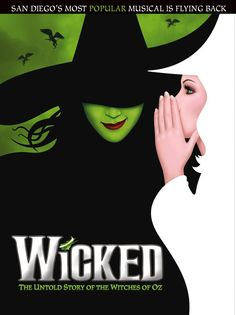 WICKED returns to San Diego November 12-December 7, 2014!
