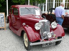 Vintage Car - Riley 1.5 [ELH 135] 110710 Leighton Hall Vintage Diy, Vintage Cars, Antique Cars, Vintage Ideas, Models Men, Mini Car, Mens Toys, Vintage Classics, Car Wheels