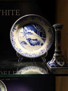 Porceleyne Fles Delft Tile Veere Cool In Summer And Warm In Winter Pottery & China Pottery & Glass