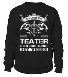 TEATER Blood Runs Through My Veins