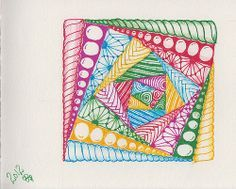 zentangle 12 - shaded | Flickr - Photo Sharing!