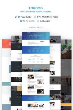 TopDog - Multipurpose Joomla Template #66341