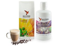 Upgrade your coffee with one that truly energizes and keeps you steady throughout the day. Add MCT oil for even more nutrition and focus Real Food Recipes, Great Recipes, Cooking Recipes, Coffee Corner, Coffee Set, Coffee Line, Mct Oil, Bulletproof Coffee, Tone It Up