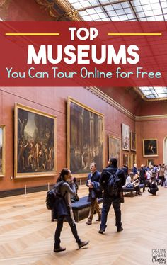 Homeschool field trips - Top Museums You Can Tour Online for Free – Homeschool field trips Virtual Museum Tours, Virtual Tour, Home Learning, Learning Activities, Educational Activities, Toddler Learning, Learning Spanish, Toddler Activities, Virtual Field Trips