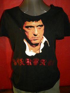 Scar Face Al Pacino Reconstructed Tee Shredded Tank by KillWalmart, $15.00