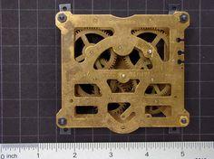 Steampunk Supplies Vintage Brass clock by SteampunkArtSupplies, $15.95  #steampunk #artsupplies