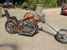 1969 custom chopper