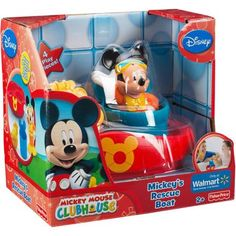 Mickey Mouse's Rescue Boat